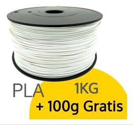 Filamento PLA impresión 3D 1.75mm 1.1kg