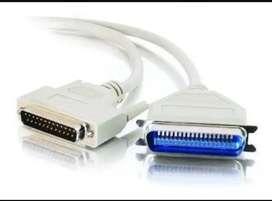 Cable Paralelo Para Impresora Db25 Macho A C3