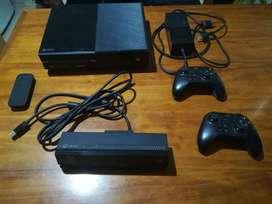 Xbox One 500gb Kinect 2 Joys 2 Guitarras Guitar Hero Live