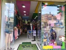 Venta  hermoso negocio de ropa especializada para dama