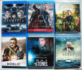 Lote Blu Ray Full - Mas De 70 Titulos