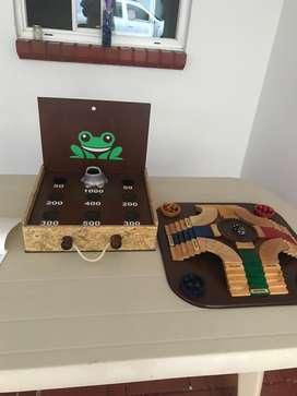 Super Juegos de mesa en Madera
