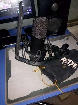 Micrófono Rode Nt1 condensador