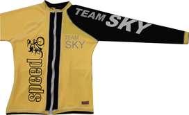 Camisetas de Ciclismo Cremallera Completa para dama y caballero