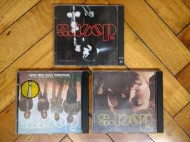 The Doors . Waiting for the Sun . In Concert    Lote 3 cd's