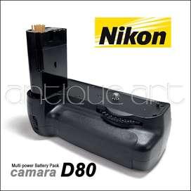 A64 Battery Vertical Grip Camara Nikon D80 Battery Pack