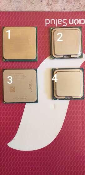 4 procesadores funcionando