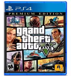 Grand Theft Auto V - Premium Edition Ps4 Físico - Nuevo - Sellado