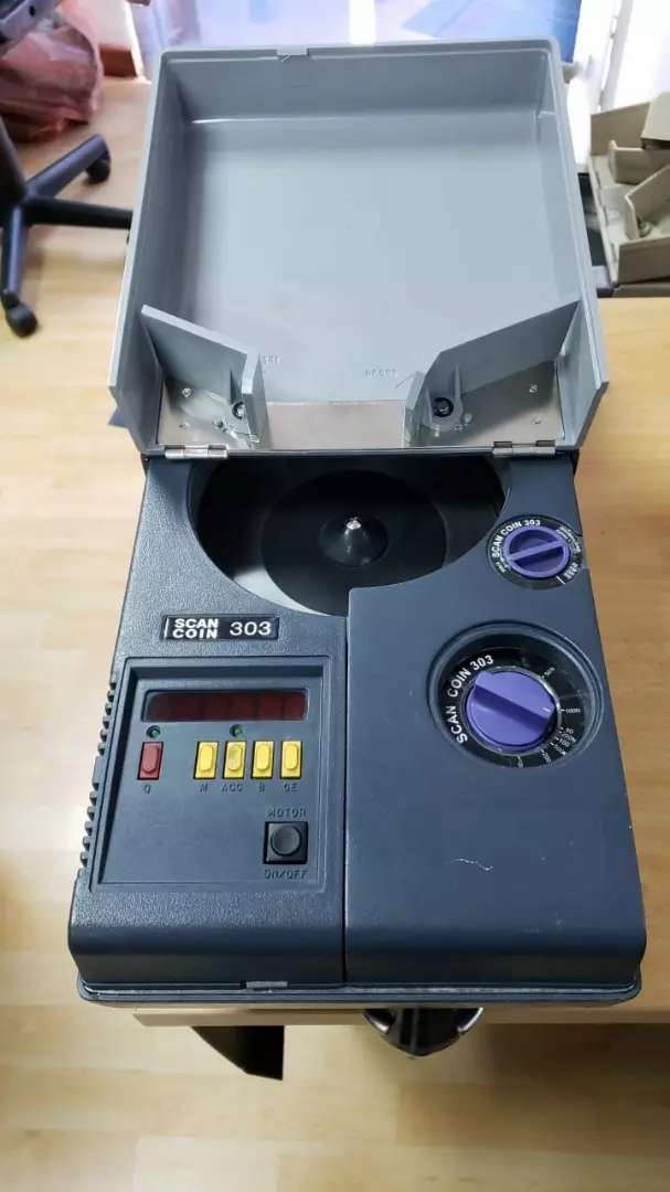 Cuenta Monedas Scan coin 303