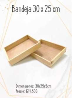 Cajas en madera PINO para anchetas, obsequios o regalos