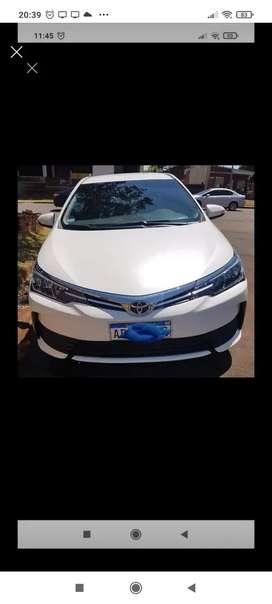 Vendo Corolla XLI mod 2019