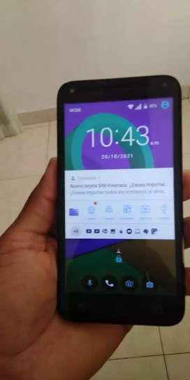 Se vende celular Alcatel u5 con huella
