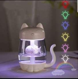 Humidificador Gato 3 en 1