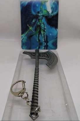 Llaveros metálicos coleccionables de tus héroes favoritos