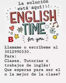 Clases y Tutorias de inglés