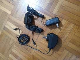 4 fuentes: 4 de  5 volt y 1 de 9 volt