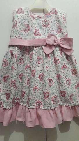 Vestido Cherto  hasta 4 Años