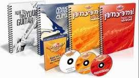 Jamorama El paquete definitivo de aprendizaje de guitarra