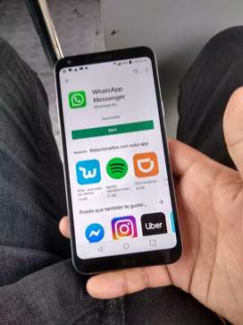 LG q6 plus 64gb 4gb ram en exc estado