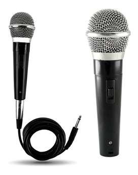 Micrófono Dinámico De Mano Para Karaoke Dvd Ktv
