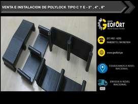 FABRICACION DE POLYLOCK TIPO C Y E  3, GAVION ,GEOTEXTIL ,TUBERIA TMC METALICA ,TUBERIA HDPE, GEOMEMBRANA HDPE Y GM13