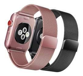 Correa Reloj Apple Watch 40mm 38mm Milanese Metal Magnético