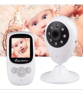 Monitor Cámara Bebé Inalámbrica Visión Nocturna