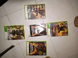 Saga completa de gears of war para Xbox 360