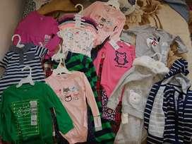 Vendo ropa de bebé marca Carter's 100% original