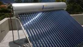 Panel Solar Presurizado 300 litros instalado