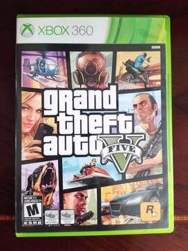 Gta V en perfecto estado, original para Xbox 360