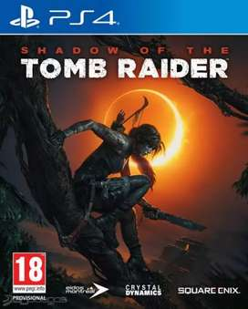 Tomb raider shadow of the juego ps4