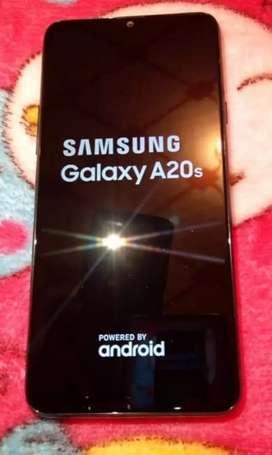 Samsung Galaxy A20 S con bandas cerradas ,flamante