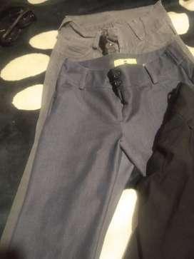 Cada pantalon a $5.000 talla 8-10