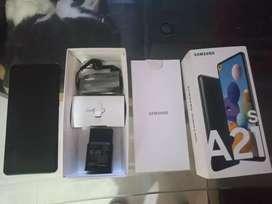 Samsung A21s 128gb como nuevo