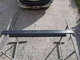 Banda paragolpe trasero de Peugeot 207 con baul
