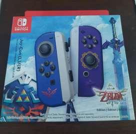 joycon edición especial the legend of Zelda skyward sword