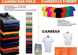 CAMIBUSOS POLO- CAMISETAS T SHIRT- CAMISAS OXFORD- MANGA CORTA MANGA LARGA- FABRICA DE PRENDAS EN GENERAL