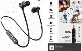Audífonos Bluetooth + estuche