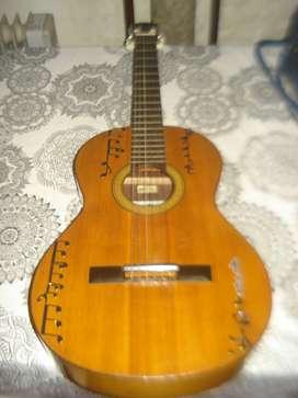 Guitarra Antigua Casa Nuñez Buen Sonido C/detalle No Envio