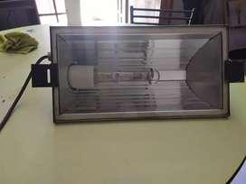 Reflector con lampara