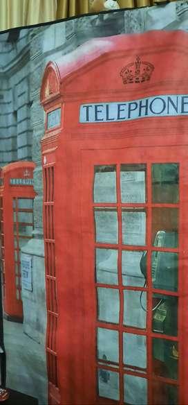 Closet armable cabina telefonica 75X160X45