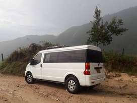 alquiler camioneta van para servicios logisticos y  perifoneo