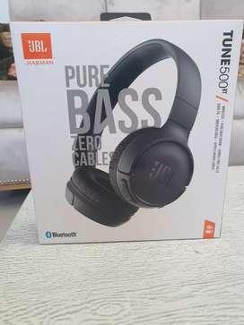 Audífonos Bluetooth JBL 500T pure bass. como nuevos