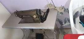 Maquina de coser plana industrial
