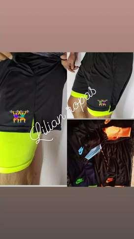 Short deportivo con calza