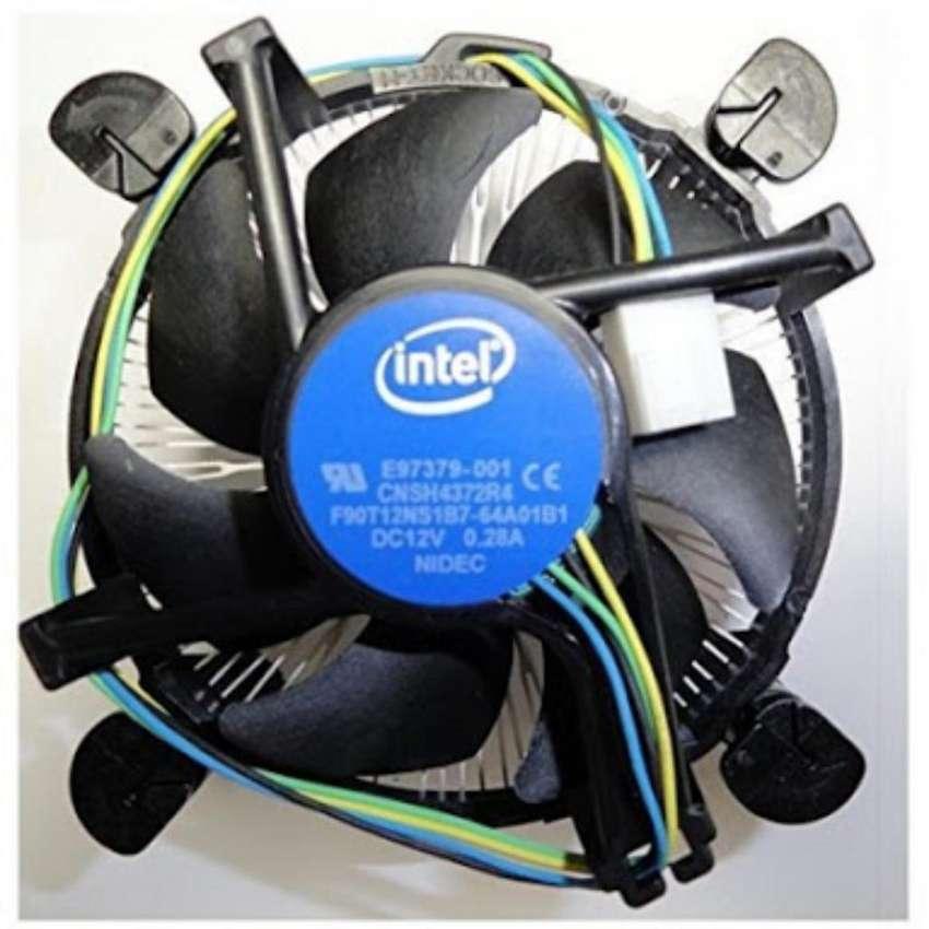 Cooler Intel Aluminio Cpu Ci3/ci5/ci7 Socket 1156/1155/1150/1151 0