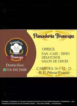 PANADERÍA FRANCESA DOMICILIOS A FUNZA, MOSQUERA Y MADRID