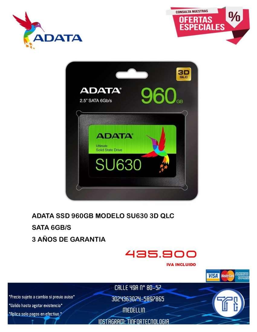 DISCO ESTADO SOLIDO ADATA SU630 960GB 0