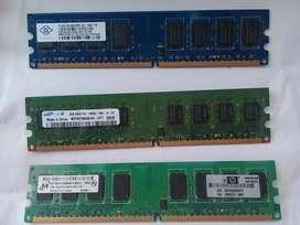 Memoria RAM para PC  DDR2 2GB  pc2  6400U
